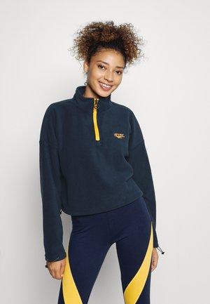 MALHAM - Fleece jumper - navy