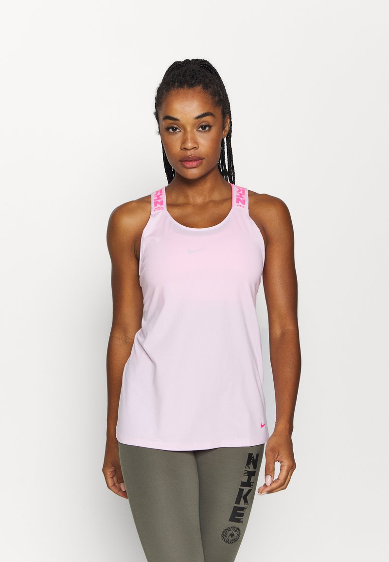 Nike Performance - ELASTKIA - Sports shirt - pink foam/hyper pink