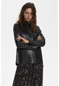 Soaked in Luxury - Leather jacket - black - 0