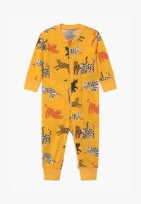 Lindex - CAT STORY UNISEX - Pyjama - dark dusty yellow - 0