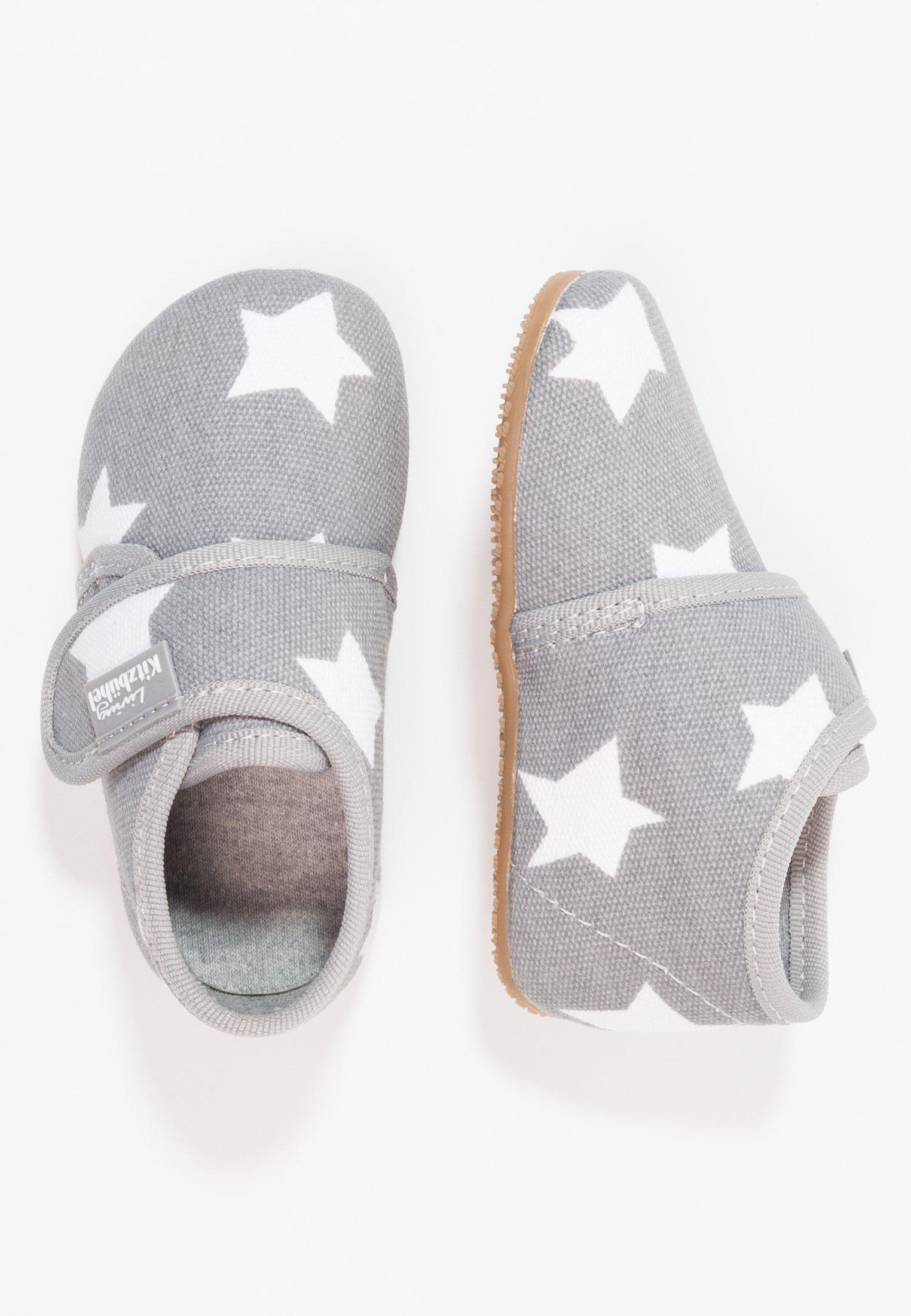 Recommend Cheap Cheapest Living Kitzbühel Slippers - hellgrau   kids shoes 2020 OY8U0