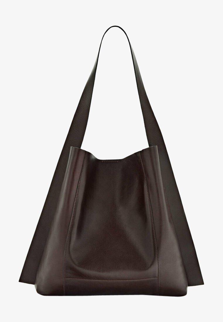 Massimo Dutti - Handbag - bordeaux