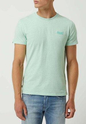Basic T-shirt - mint meliert
