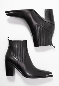 San Marina - AGUEDA - Boots à talons - black - 3