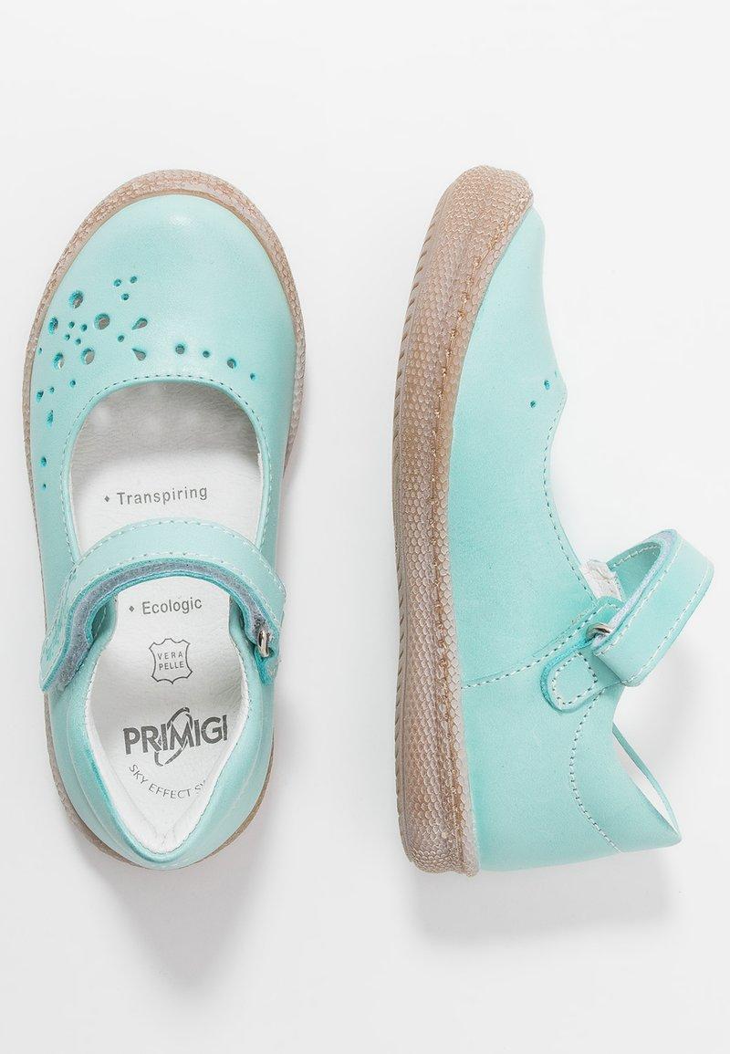 Primigi - Ankle strap ballet pumps - aquamarina