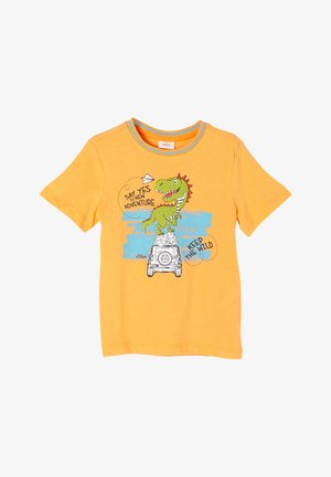 DINO MOTIV - Print T-shirt - light orange