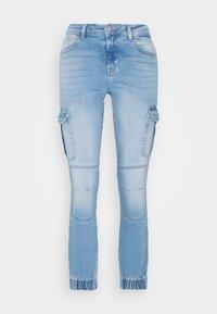 ONLY - ONLMISSOURI LIFE - Straight leg jeans - light blue denim - 3