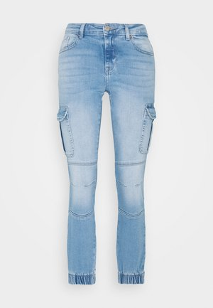 ONLMISSOURI LIFE - Straight leg jeans - light blue denim