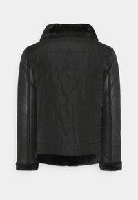 Brave Soul - CAESAR - Faux leather jacket - black - 8