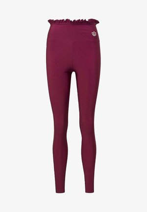 BELLISTA SPORTS INSPIRED SLIM TIGHTS - Leggings - power berry