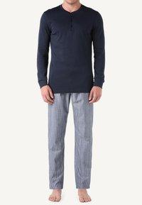 Intimissimi - INTERLOCK SUPIMA - Pyjama top - blue - 0