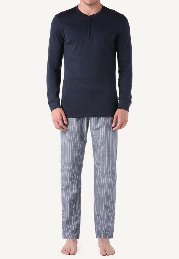 Intimissimi - INTERLOCK SUPIMA - Pyjama top - blue