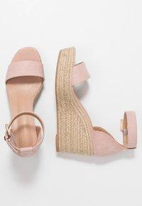 Anna Field - Sandaler med høye hæler - nude - 3