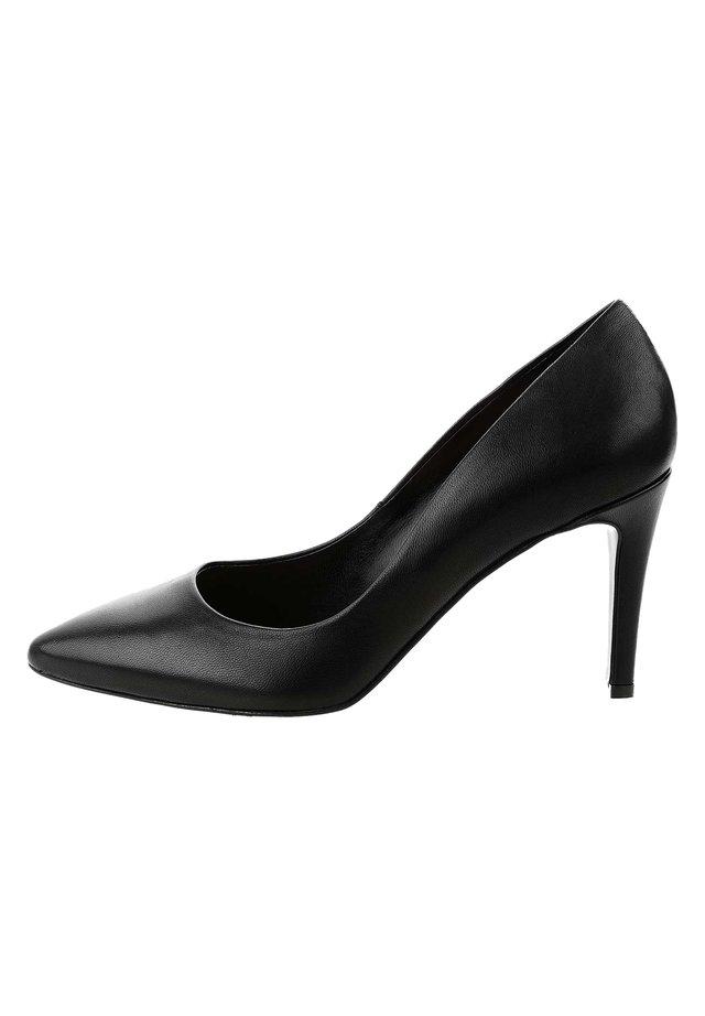 ALFINE - Lodičky na vysokém podpatku - black