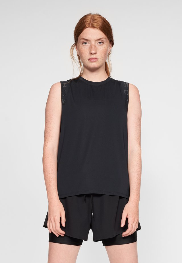 KAY SINGLET - Top - black