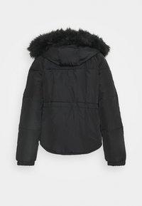 River Island - CHUBBY PUFFER - Winter jacket - black - 1