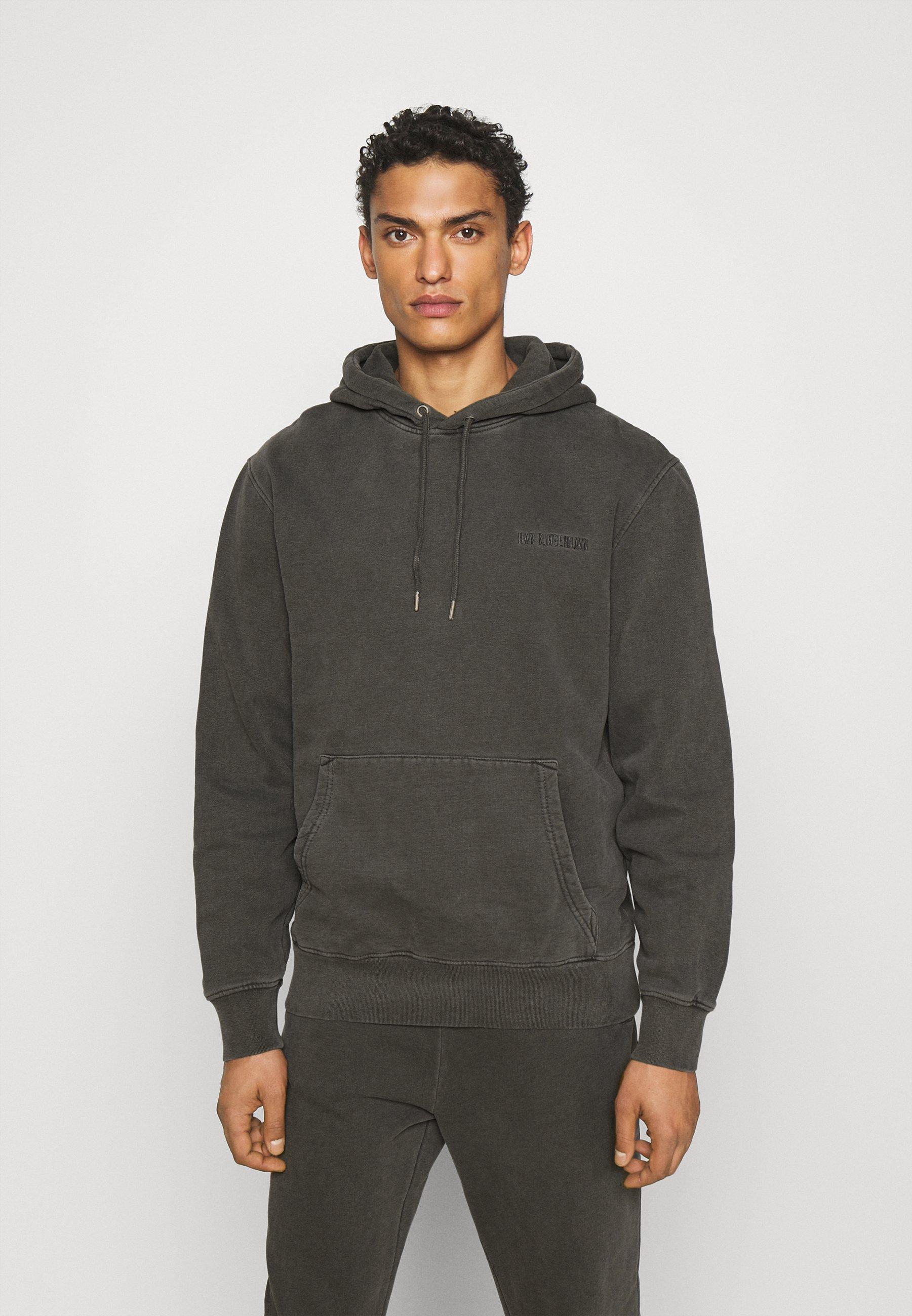 Homme CASUAL HOODIE - Sweatshirt - dark grey
