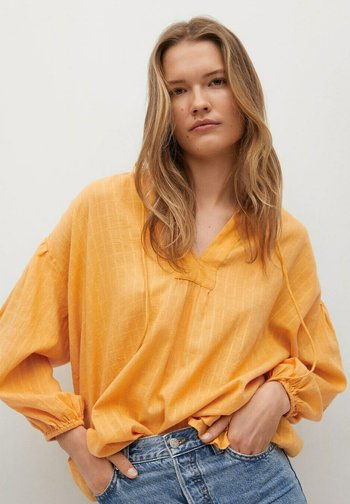 Blouse - moutarde