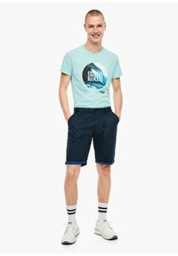 QS by s.Oliver - Shorts - marine - 1