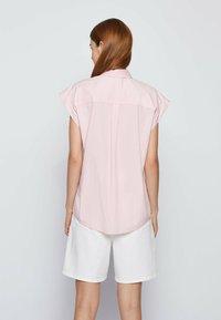 BOSS - BEMIRTA - Button-down blouse - pink - 2