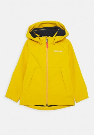 POGGIN KIDS - Soft shell jacket - mellow yellow
