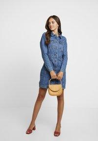 Vero Moda - Day dress - medium blue denim - 2
