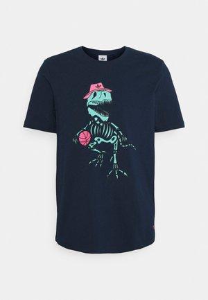 DINO TEE UNISEX - T-shirt med print - collegiate navy