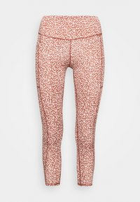 Cotton On Body - LOVE YOU A LATTE 7/8 - Medias - red melange - 3
