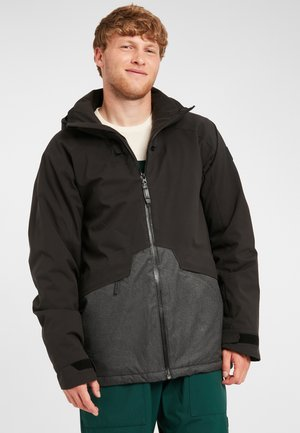 QUARTZITE  - Snowboard jacket - black out