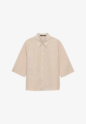ZABELKE  - Button-down blouse - beige