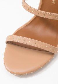 Kurt Geiger London - PORTIA - High heeled sandals - nude - 2