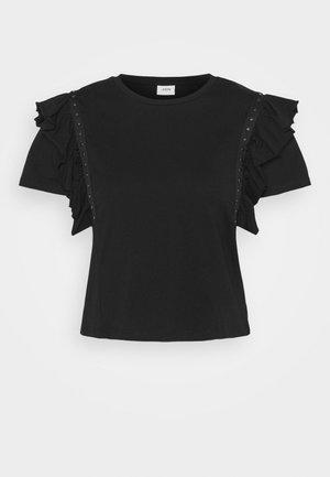 JDYDAISY LIFE  - Print T-shirt - black