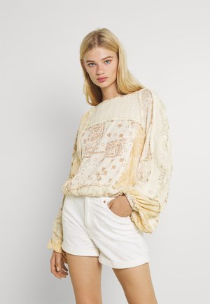 BOOM BOOM - Long sleeved top - ivory combo