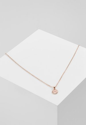 ELVINA MINI BUTTON - Necklace - rose gold-coloured/baby pink