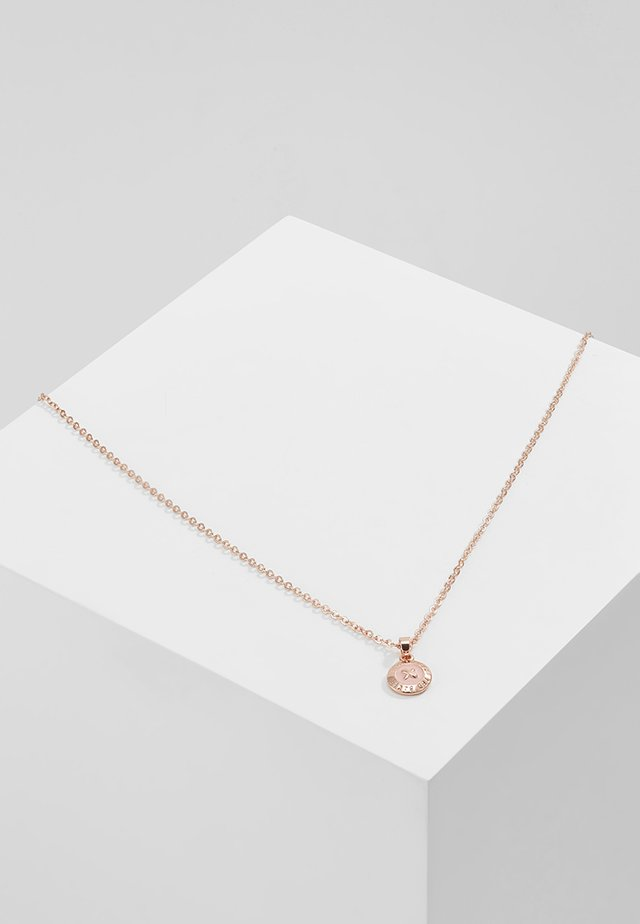ELVINA MINI BUTTON - Náhrdelník - rose gold-coloured/baby pink