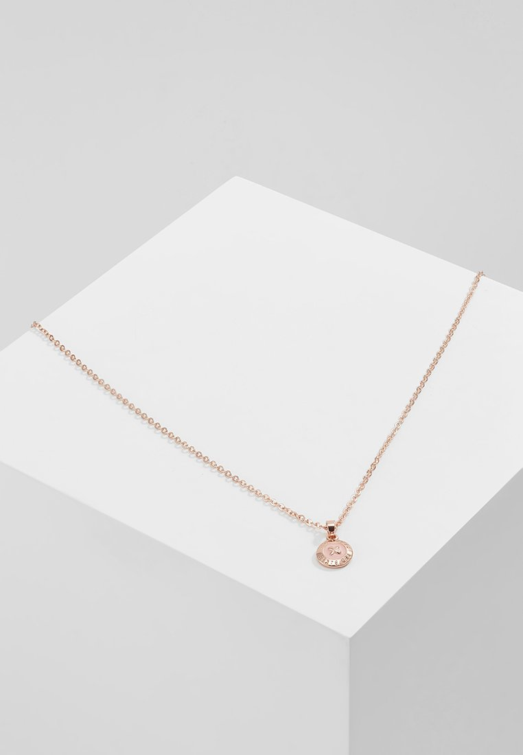 Ted Baker - ELVINA MINI BUTTON - Necklace - rose gold-coloured/baby pink