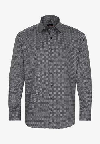 MODERN FIT - Shirt - schwarz/grau