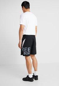 Reebok - ONE SERIES TRAINING SHORTS - Sports shorts - black - 2