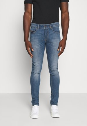 SLEENKER - Jeans slim fit - blue denim