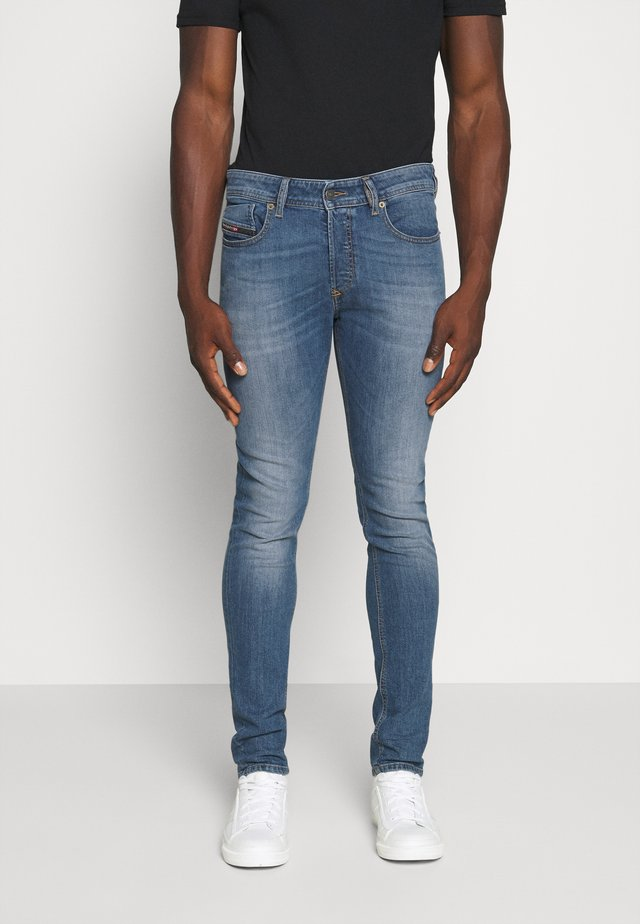 SLEENKER - Slim fit jeans - blue denim