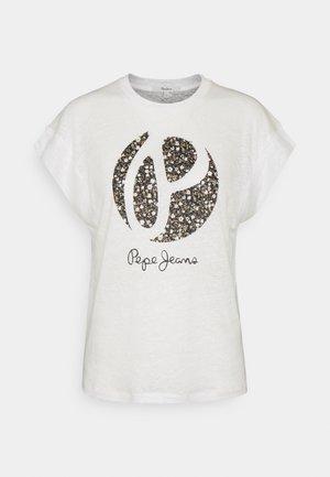 ALICE - Camiseta estampada - mousse