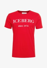 Iceberg - Print T-shirt - red - 3