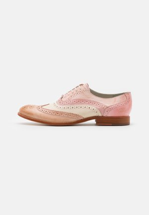 AMELIE 10 - Lace-ups - light rose/white/rose/pale rose/natural