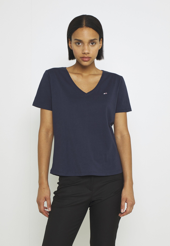 Damen SOFT V NECK TEE - T-Shirt basic