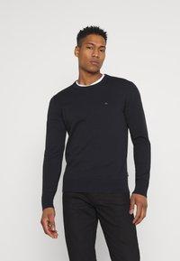 Calvin Klein - C NECK - Jumper - black - 0