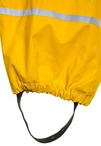 CeLaVi - RAINWEAR PANTS  RAINWEAR UNISEX - Rain trousers - yellow - 3