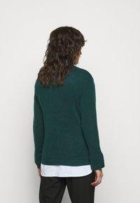 Bruuns Bazaar - HOLLY JOHANNE  - Svetr - teal green - 2