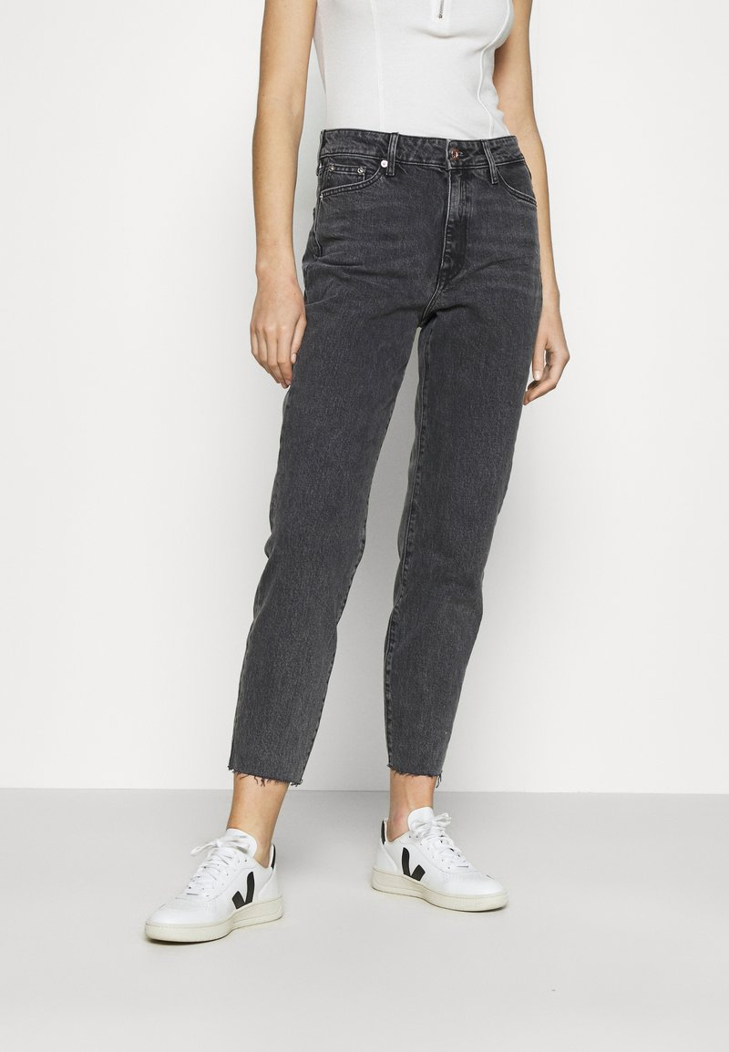 River Island - Straight leg jeans - washed black