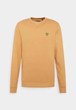 CREW NECK  - Sweater - tan