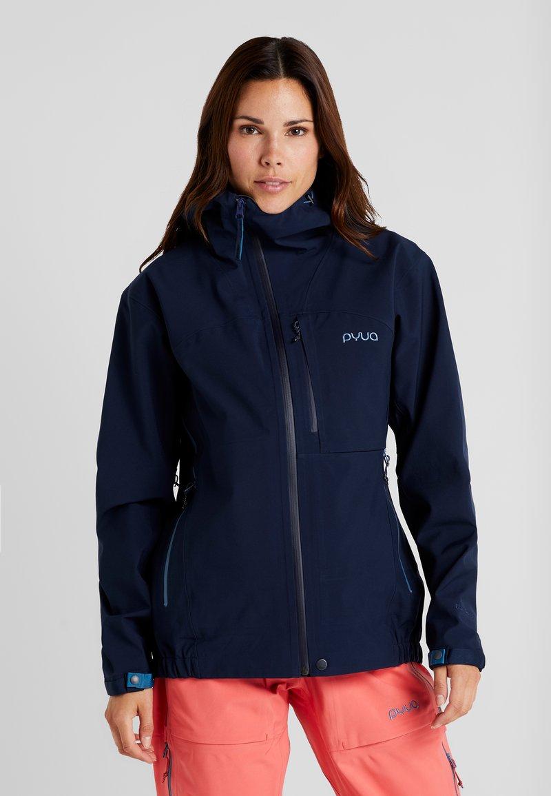 PYUA - GORGE - Ski jacket - navy blue